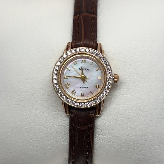 Золотые часы женские 39Б