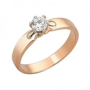 Золотое женское кольцо 330193