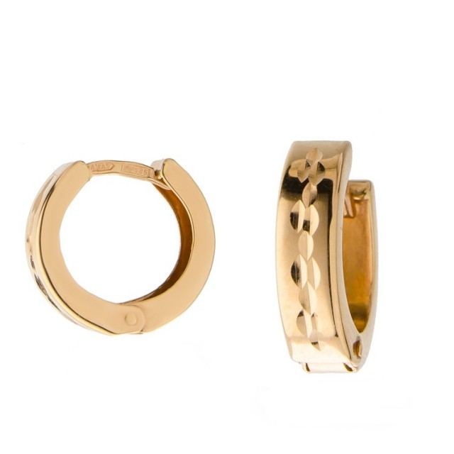Золотые серьги 470330