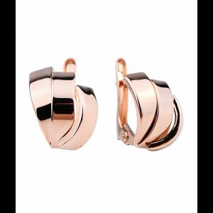 Золотые женские серьги 470570