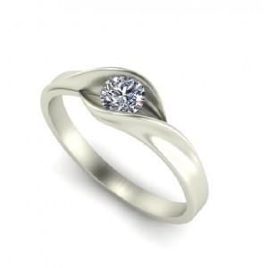 Золотое женское кольцо 1195080