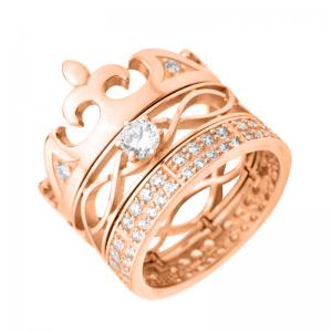 Золотое обручальное кольцо 330093