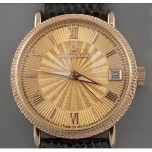 Золотые часы мужские 35E