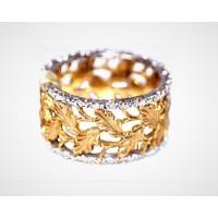 Золотое обручальное кольцо 415134