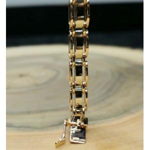 Золотой браслет 613011