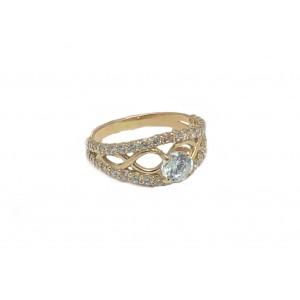 Золотое женское кольцо 603/035