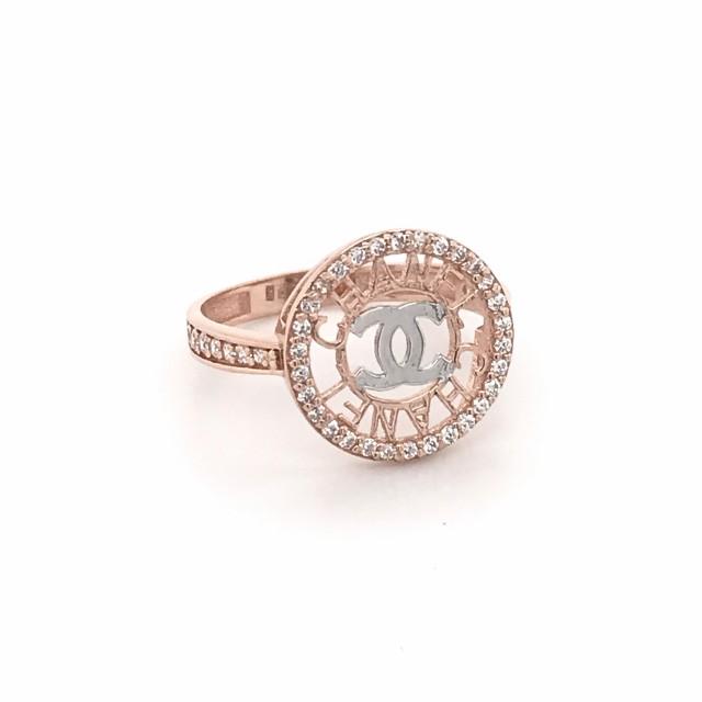 Золотое женское кольцо 1121907 фото