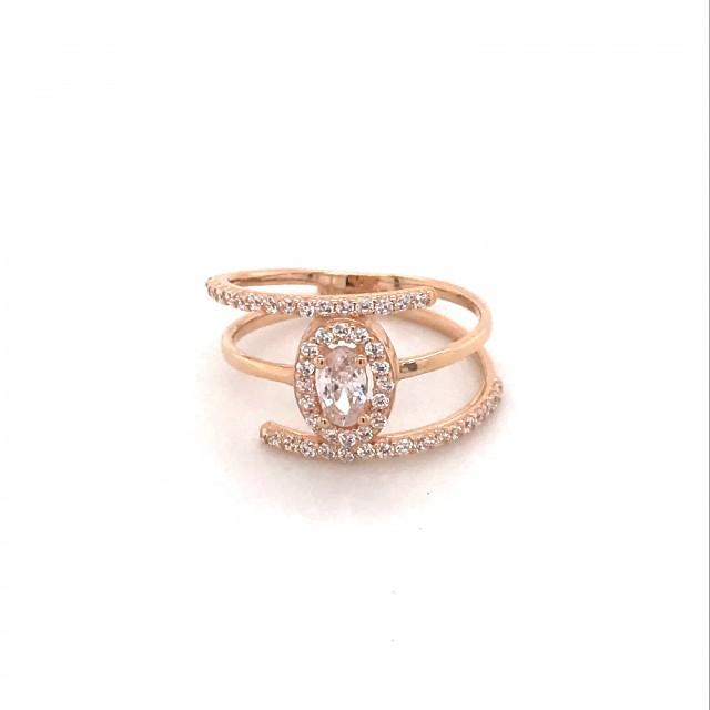 Золотое женское кольцо 1121953