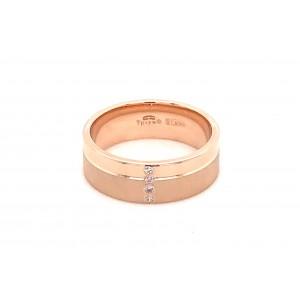 Золотое обручальное кольцо 412266