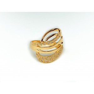 Золотое женское кольцо 11092901
