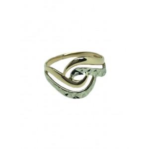 Золотое женское кольцо 10222