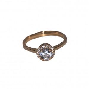 Золотое женское кольцо 883