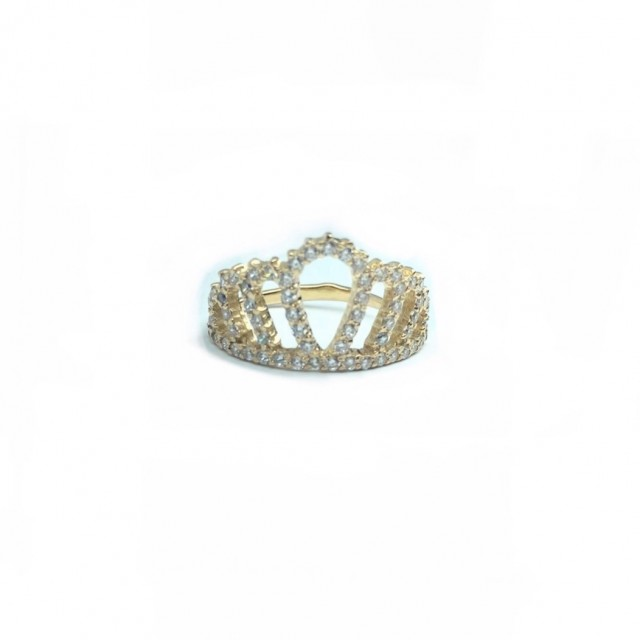 Золотое женское кольцо 596/035