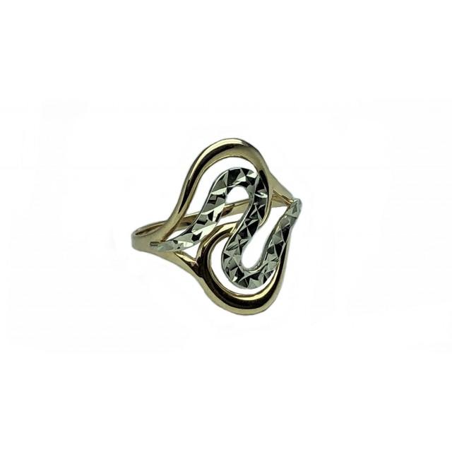 Золотое женское кольцо 10223 фото