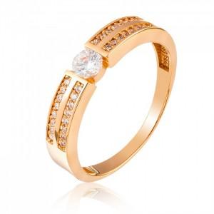Золотое женское кольцо 1/1092 Kievg