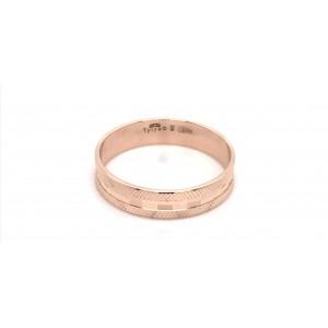 Золотое обручальное кольцо 411032