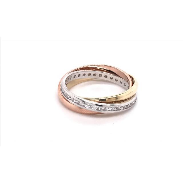 Золотое женское кольцо 472807 фото