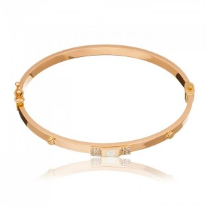Золотой браслет Cartier 5/9008 фото
