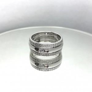 Золотое обручальное кольцо 415124