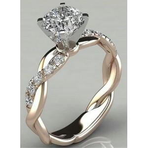 Золотое кольцо женское 211001 фото