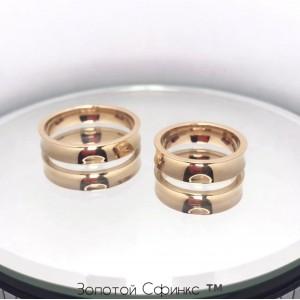Золотое обручальное кольцо 41130750