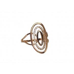 Золотое женское кольцо 20538