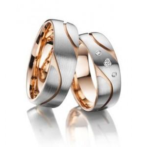 Золотое обручальное кольцо 318594