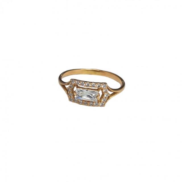 Золотое женское кольцо 600/035