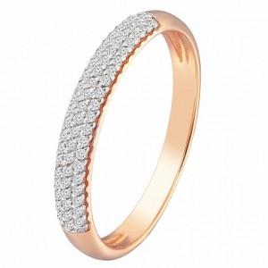 Золотое обручальное кольцо 119063010101 Sova