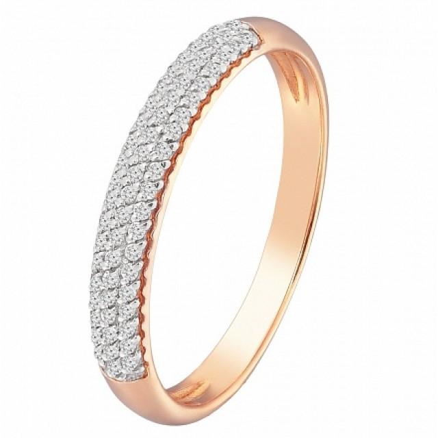 Золотое обручальное кольцо 119063010101
