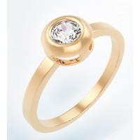 Золотое женское кольцо K101 Platon