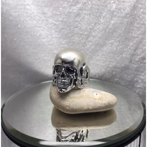 Серебряная печать с черепом 18360