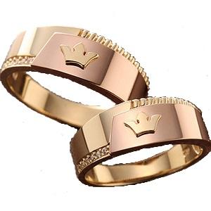 Золотое обручальное кольцо 415163