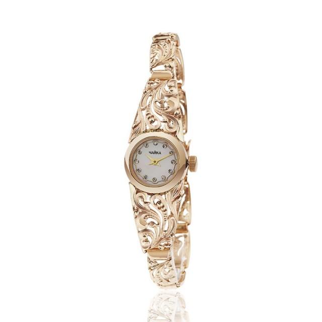 Золотые часы женские 31