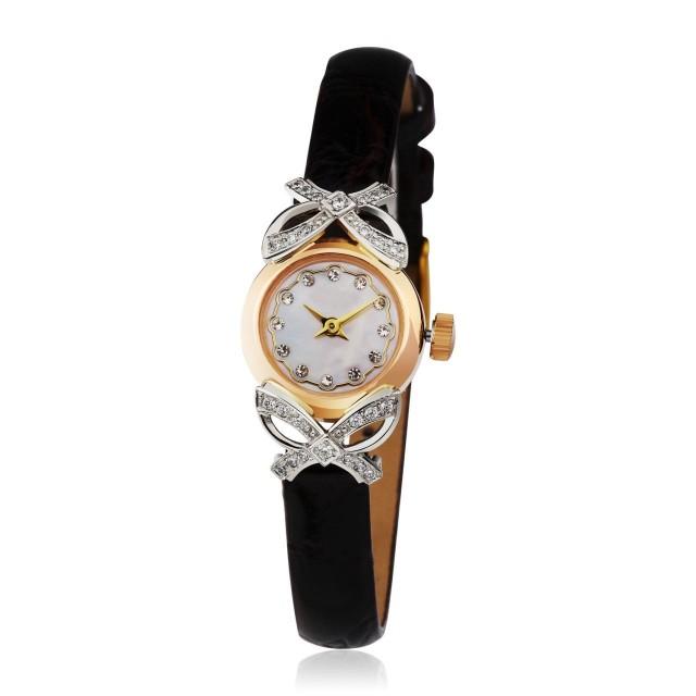 Золотые часы женские 109