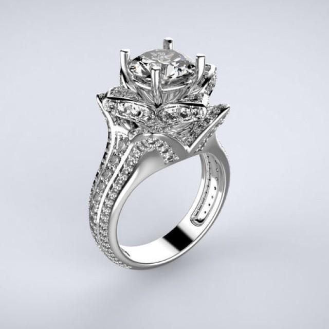 Золотое кольцо для помолвки 1195292