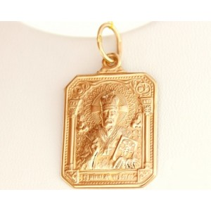Золотая иконка 100034