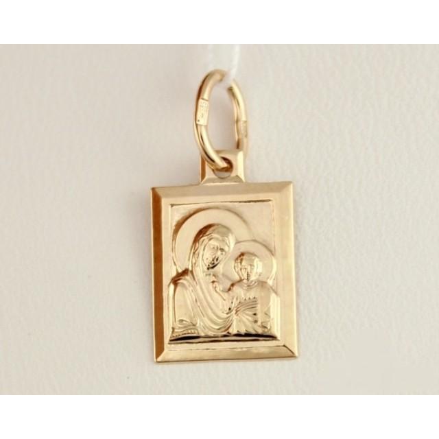 Золотая иконка 100263