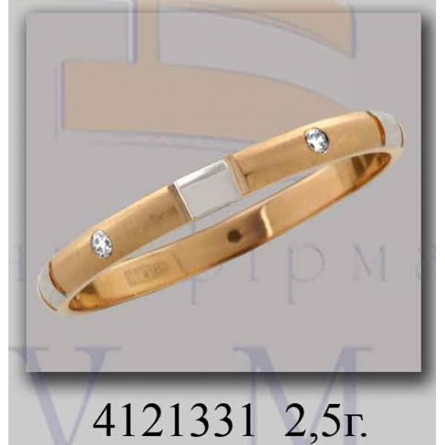 Золотое обручальное кольцо 4121331 фото