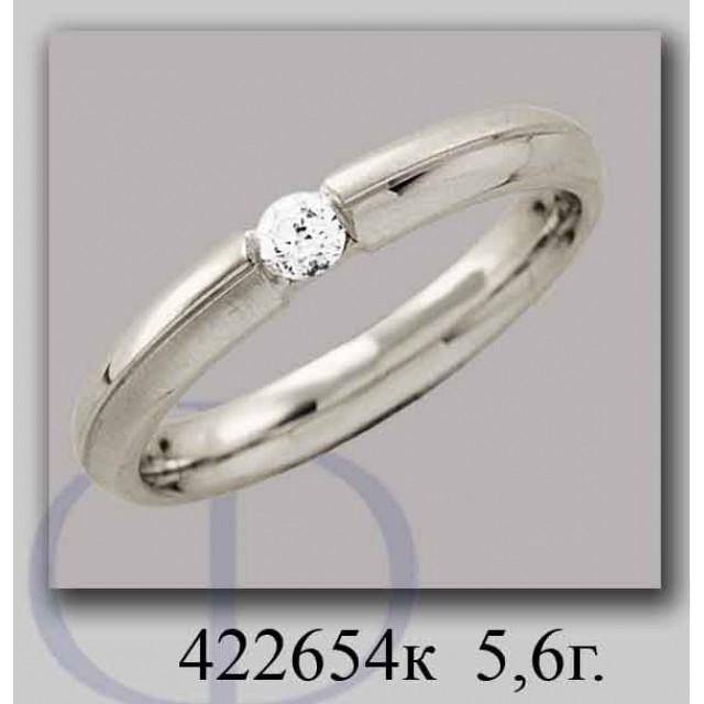 Золотое обручальное кольцо 422654