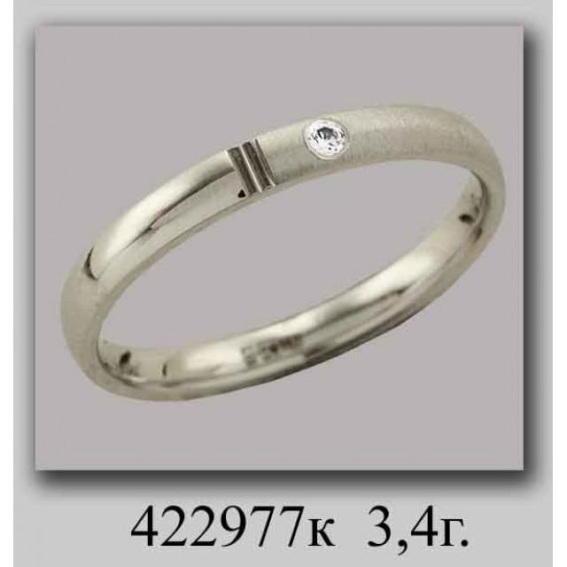 Золотое обручальное кольцо 422977 фото