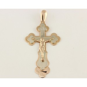 Золотой крестик 210008