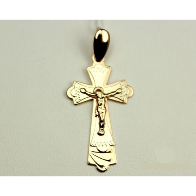 Золотой крестик 210022