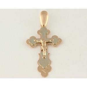 Золотой крестик 210034