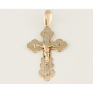 Золотой крестик 210039
