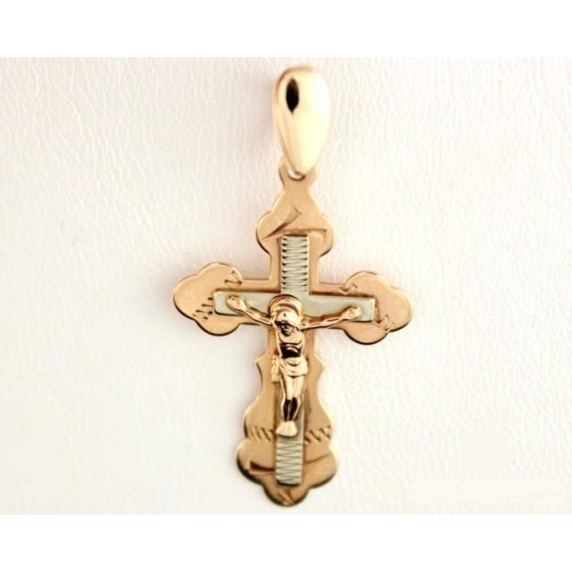 Золотой крестик 210040