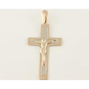 Золотой крестик 210045