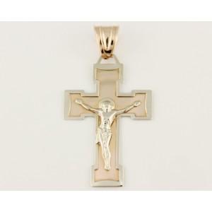 Золотой крестик 210048