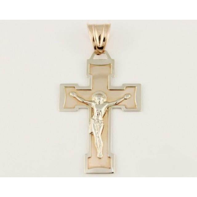 Золотой крестик 210048 фото