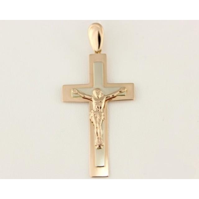 Золотой крестик 210072
